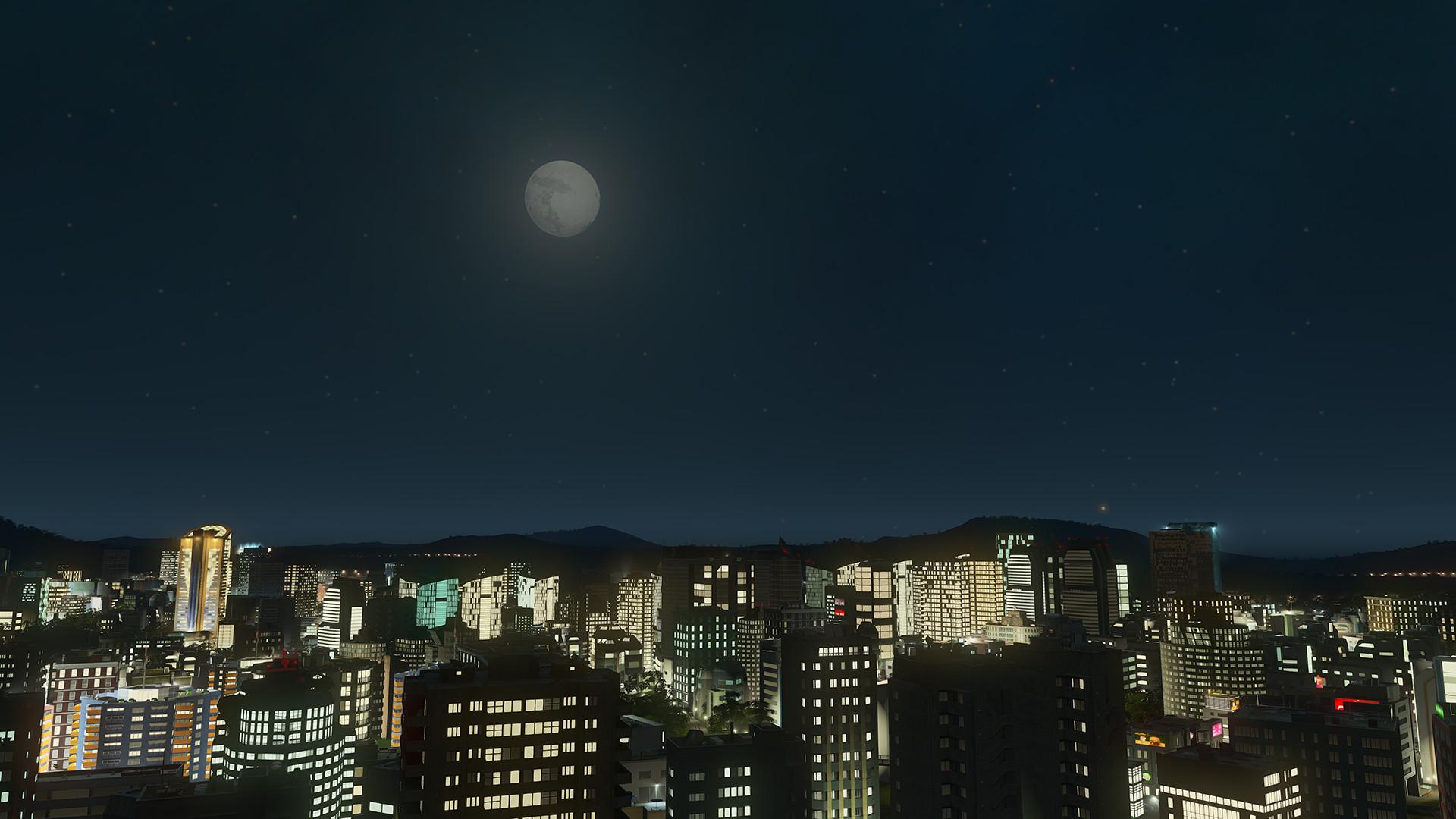 城市:天际线插图